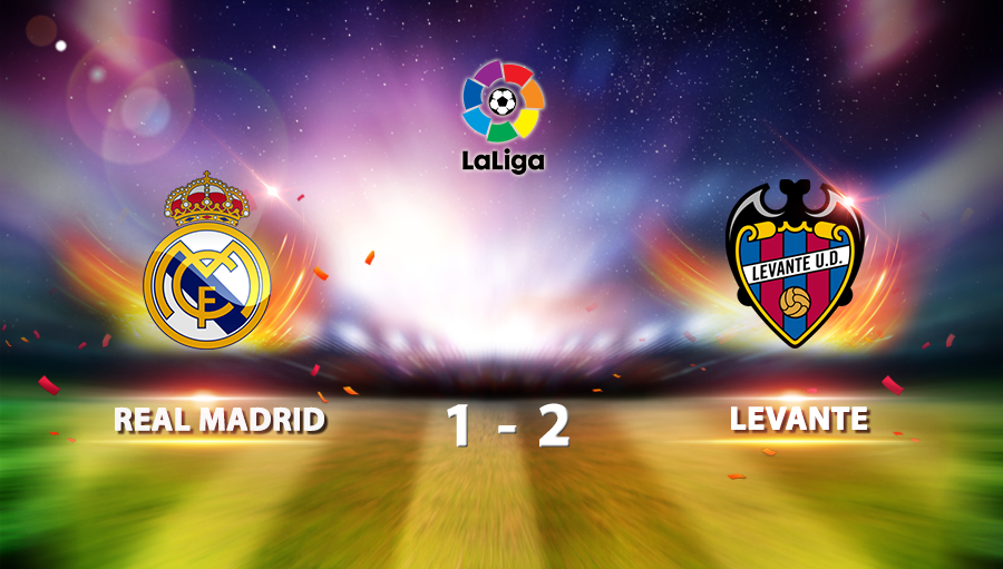 Real Madrid 1-2 Levante