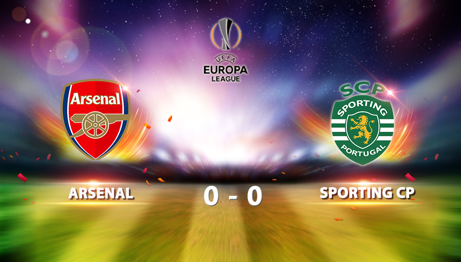 Arsenal 0-0 Sporting CP