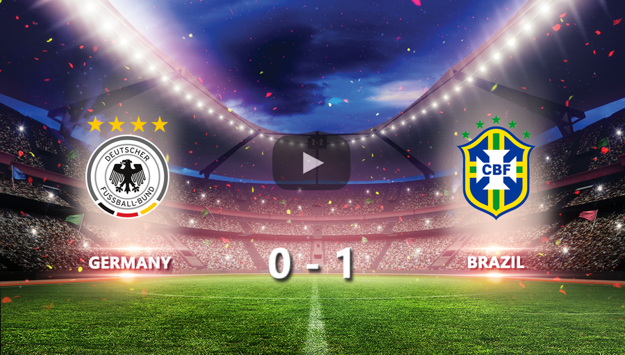 Germany 0-1 Brazil