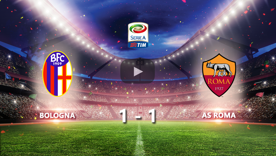 Bologna 1-1 As Roma