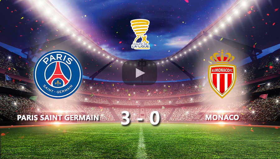Paris Saint Germain 3-0 AS Monaco