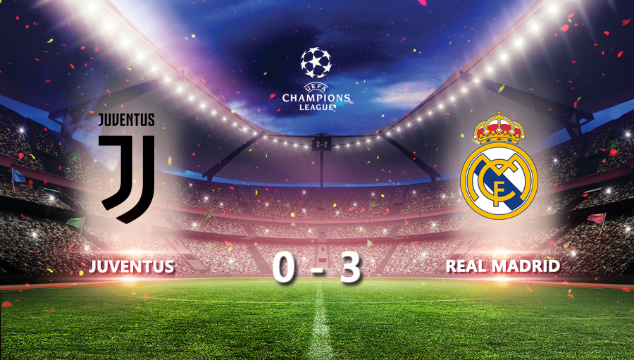 Juventus 0-3 Real Madrid