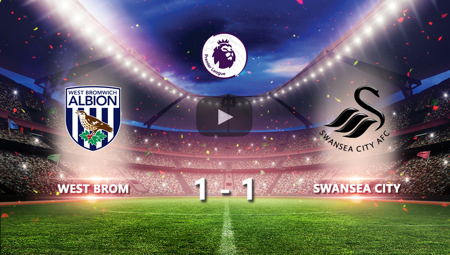 West Brom 1-1 Swansea City