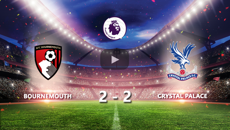 Bournemouth 2-2 Crystal Palace