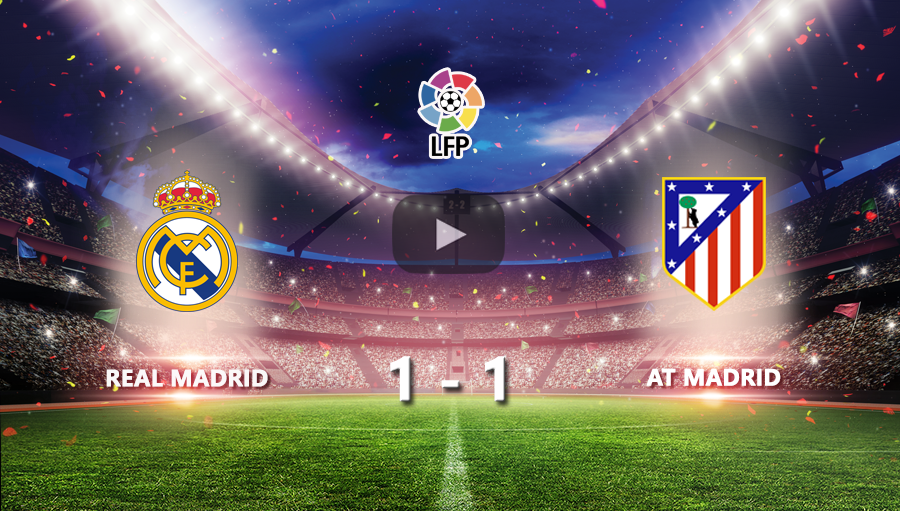 Real Madrid 1-1 At Madrid