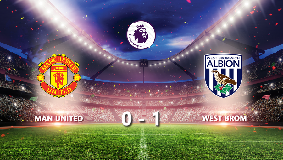 Man United 0-1 West Brom