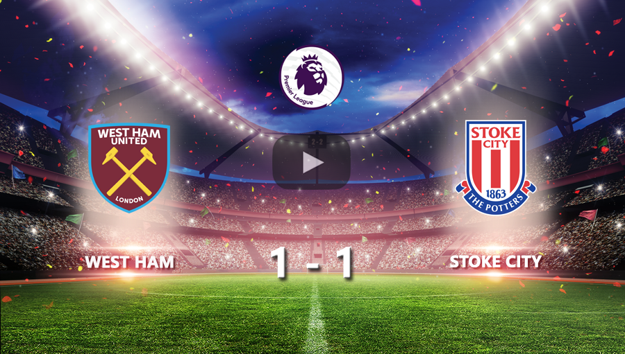 West Ham 1-1 Stoke CIty