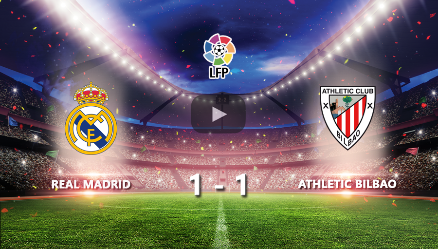 Real Madrid 1-1 Athletic BIlbao