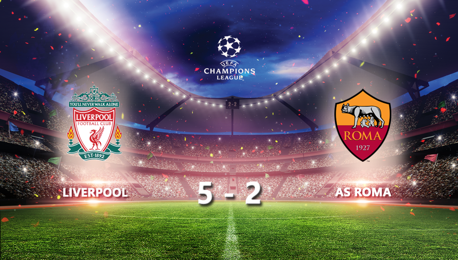 Liverpool 5-2 As Roma