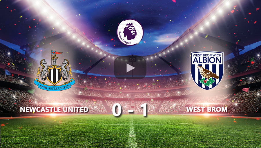 Newcastle United 0-1 West Brom