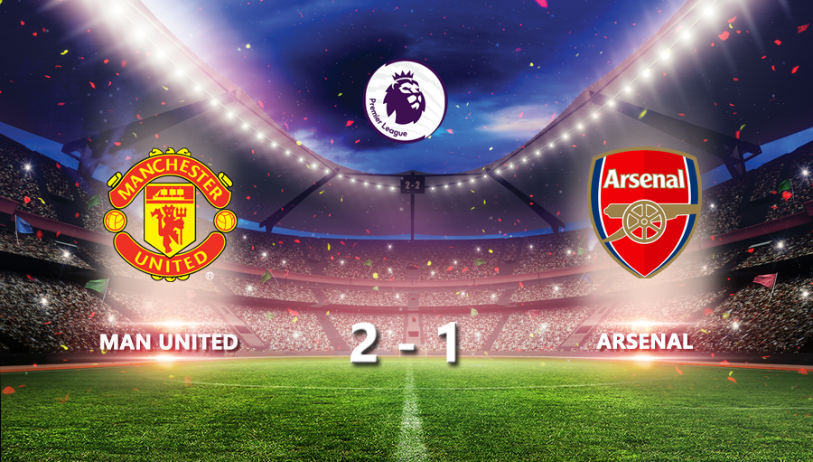 Man United 2-1 Arsenal