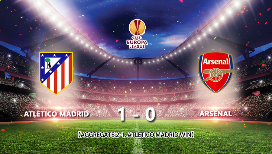 Atletico Madrid 1-0 Arsenal
