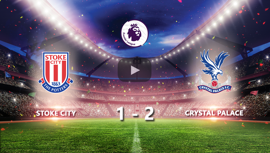 Stoke City 1-2 Crystal Palace