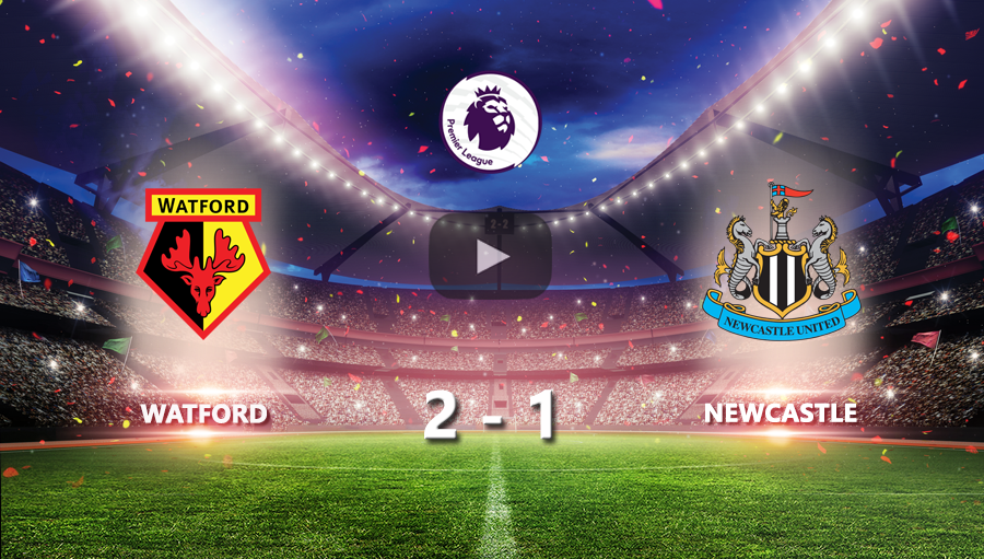 Watford 2-1 Newcastle United