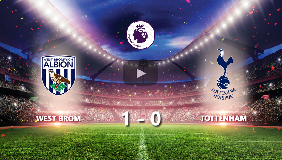 West Brom 1-0 Tottenham