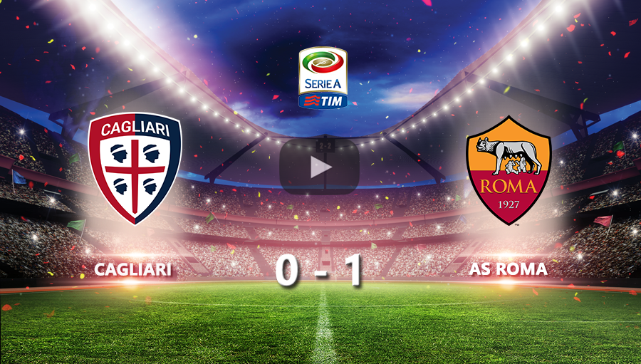 Cagliari 0-1 AS Roma