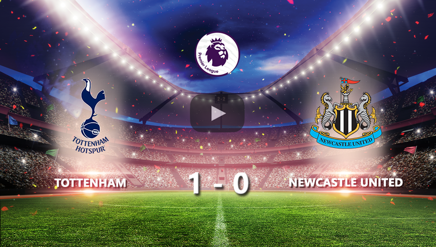 Tottenham Hotspur 1-0 Newcastle United