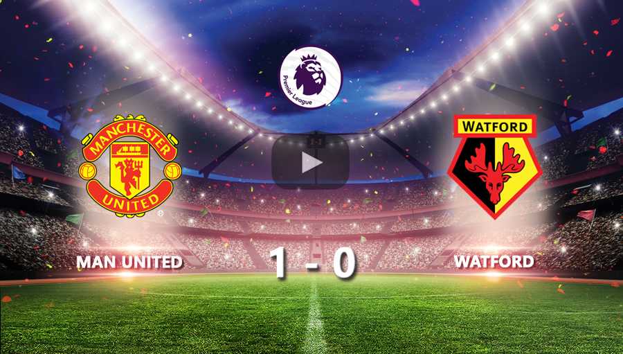 Man United 1-0 Watford