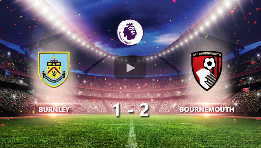 Burnley 1-2 Bournemouth