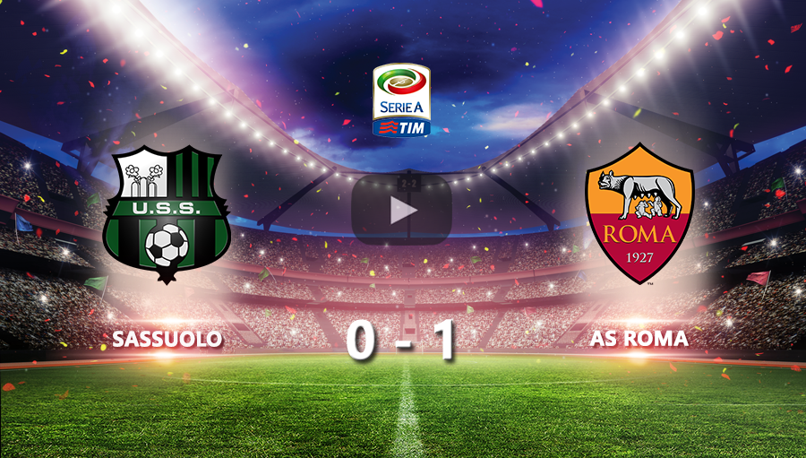 Sassuolo 0-1 AS Roma