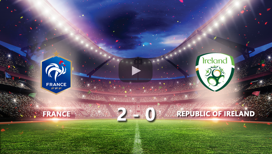 France 2-0 Republic of Ireland