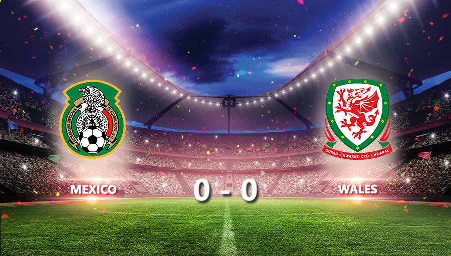 Mexico 0-0 Wales
