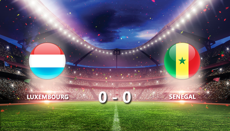 Luxembourg 0-0 Senegal