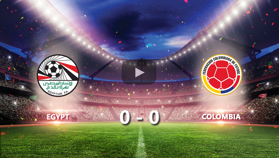 Egypt 0-0 Colombia