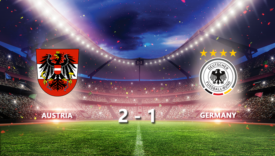 Austria 2-1 Germany