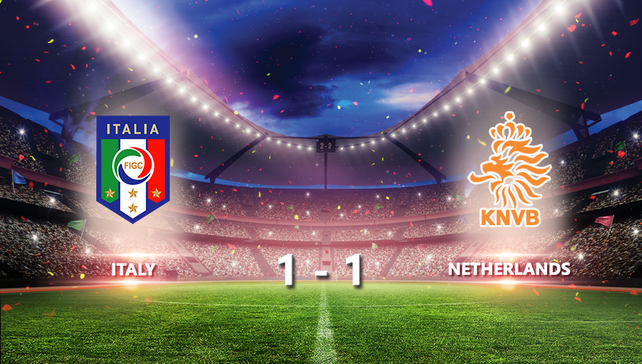 Italy 1-1 Netherlands