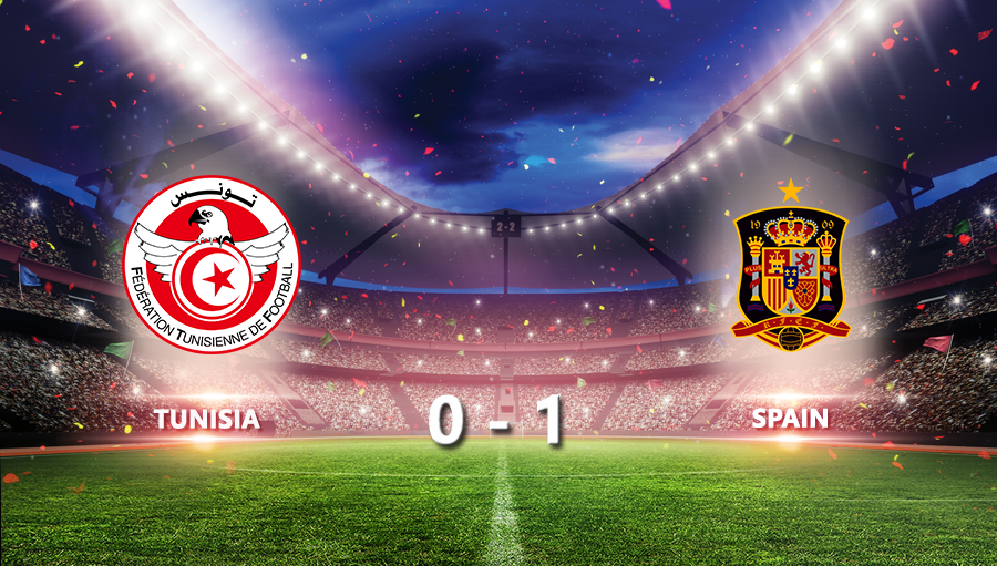 Tunisia 0-1 Spain