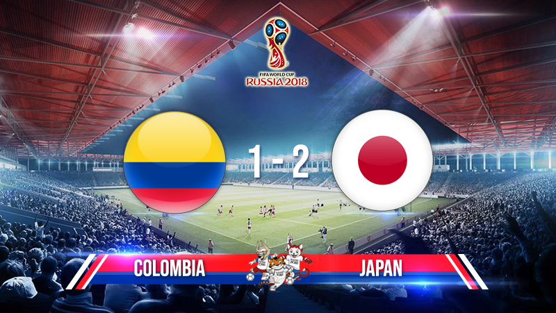 Colombia 1-2 Japan