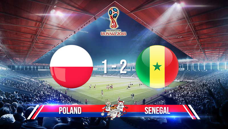 Poland 1-2 Senegal