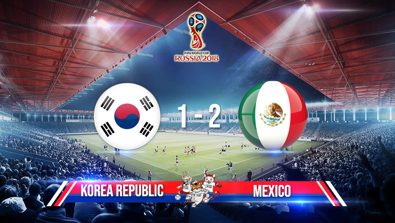 Korea Republic 1-2 Mexico