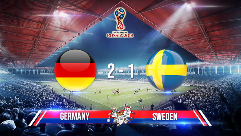 Germany 2-1 Sweden