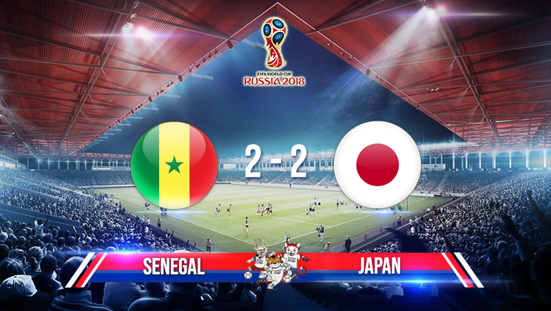 Senegal 2-2 Japan