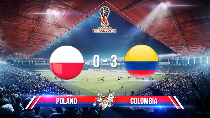 Poland 0-3 Colombia