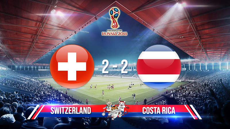 Switzerland 2-2 Costa Rica
