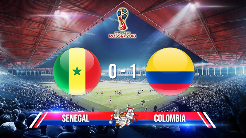 Senegal 0-1 Colombia