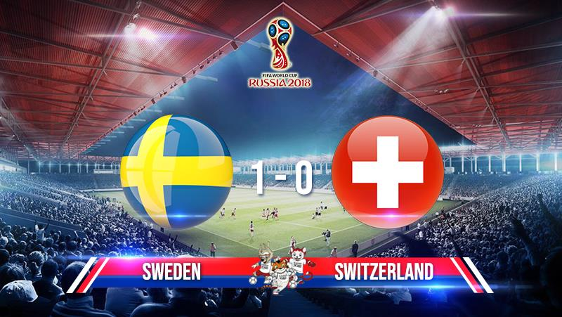 Sweden 1-0 Switzerland