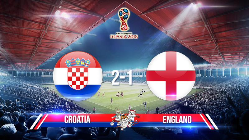 Semi-Finals: Croatia 2-1 England