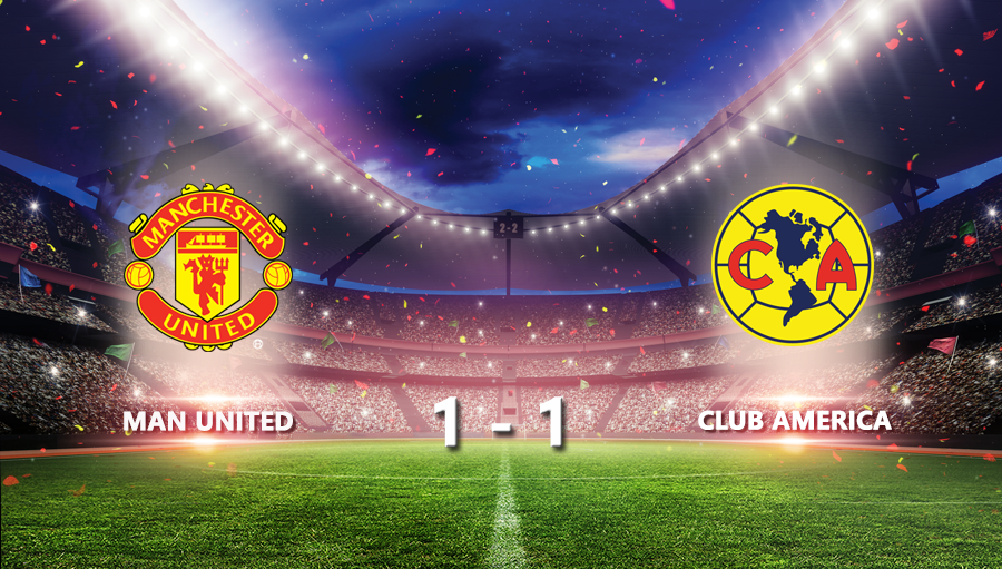Man United 1-1 Club America