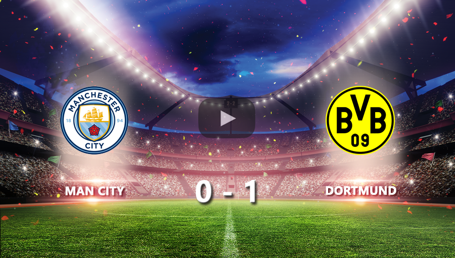 Man City 0-1 Dortmund
