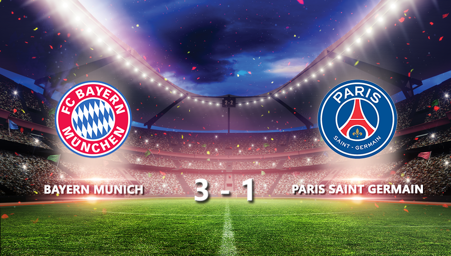 Bayern Munich 3-1 Paris Saint Germain
