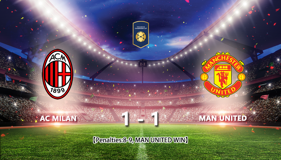 AC Milan 1-1 Man United