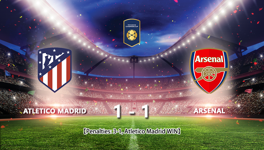 Atletico Madrid 1-1 Arsenal