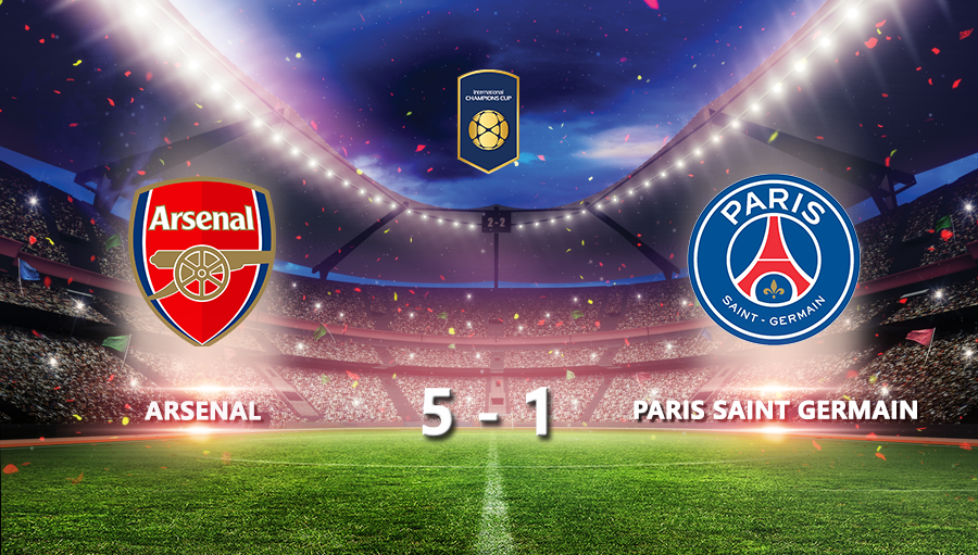 Arsenal 5-1 Paris Saint Germain
