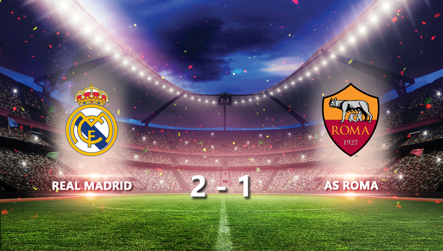 Real Madrid 2-1 As Roma