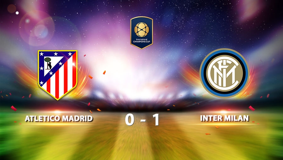 Atletico Madrid 0-1 Inter Milan