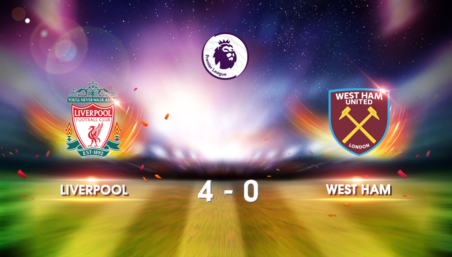 Liverpool 4-0 West Ham